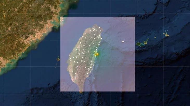 Tayvan'da deprem fırtınası