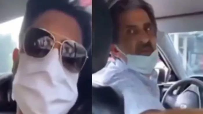 Yusuf Güney taksiciyle kavga etti! O anları sosyal medyadan paylaştı