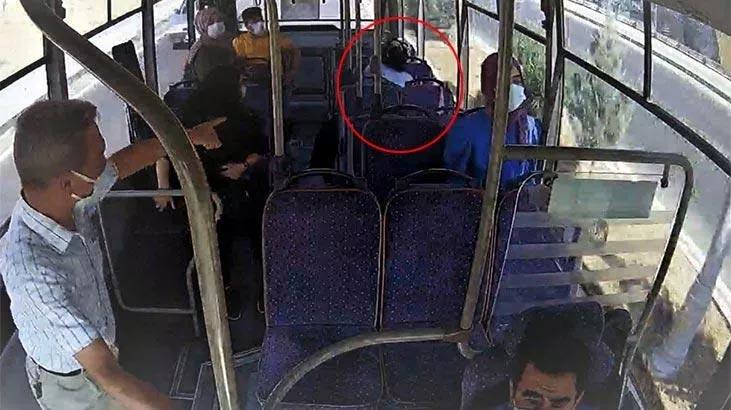 Yolcular fark etti şoför güzergah değiştirdi! Otobüste panik anları