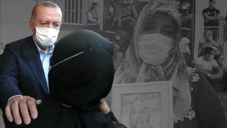 Evlat nöbetindeki Fatma Akkuş mutlu haberi Cumhurbaşkanı Erdoğan'dan aldı