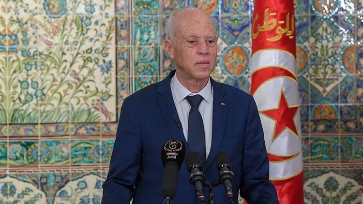 Tunus Cumhurbaşkanı Said, ABD Dışişleri Bakanı Blinken ile görüştü