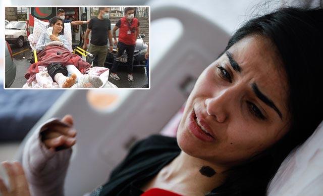 Adliyeye sedye ile gelen Sabiha Mutlu: Sürünerek de olsa gelecektim, davanın peşindeyim