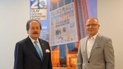 AK Parti İl Başkanı Gürkan'dan Cavit Çağlar'a ziyaret