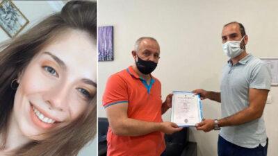 Bursa'da aşure dağıtırken can vermişti! Eda'nın diplomasını babası aldı