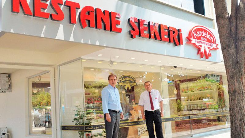 Kardelen Kestane Şekeri Bursa FSM şubesi açıldı