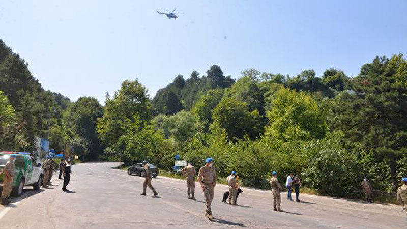 Bursa'da orman yangınlarına karşı 'Özel Harekat' teyakkuzda