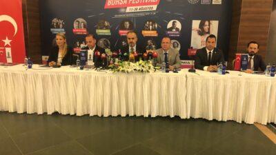 Uluslararası Bursa Festivali'nin tanıtımı yapıldı…