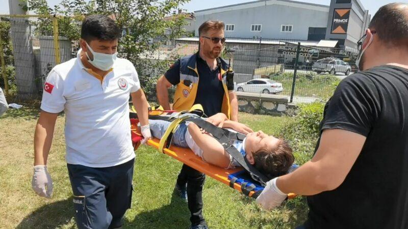 Bursa'da dondurma sevdası kazaya dönüştü