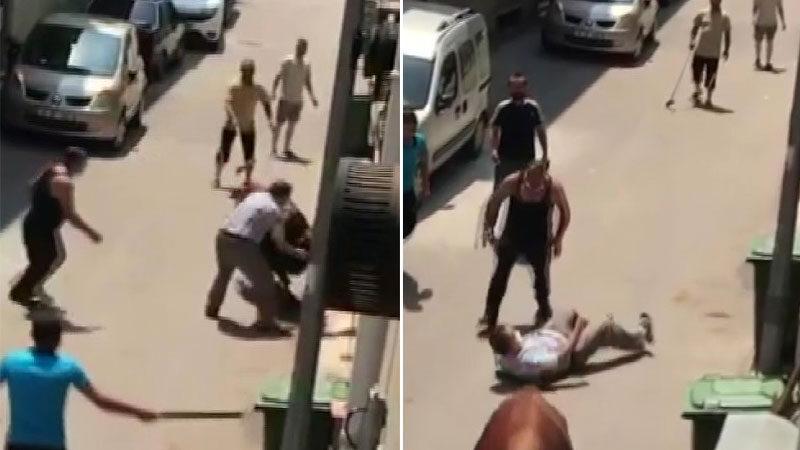 Görüntü Bursa'dan… Kendisini kovalayan adamı böyle yere serdi