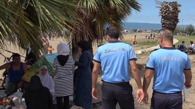 Bursa sahillerinde usulsüz işgale geçit yok