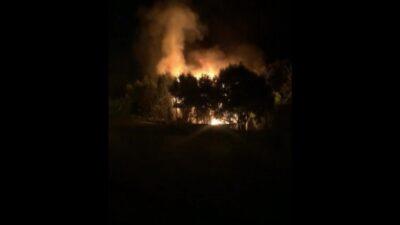Bursa'da bağ evinde korkutan yangın!