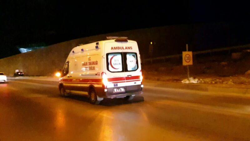 Bursa'da feci motosiklet kazası