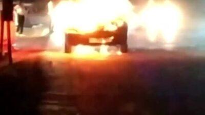 Bursa'da korkutan yangın! Alev alev yandı