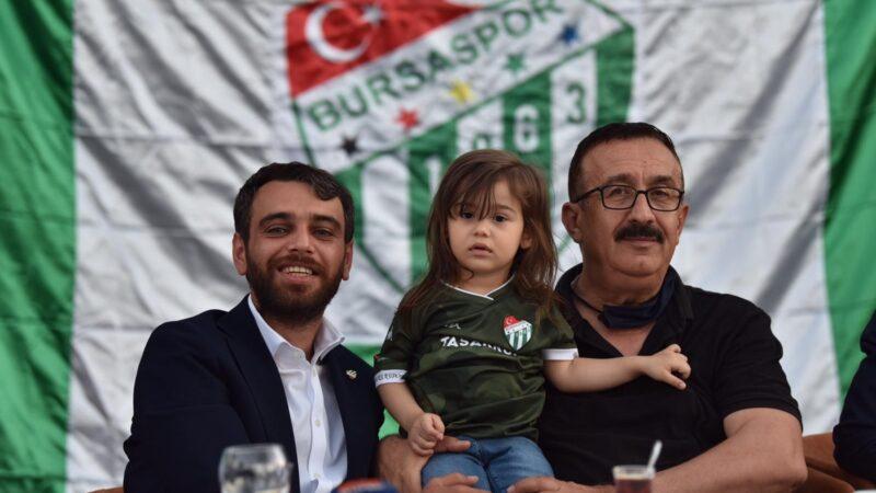 Bursaspor camiası Emin Adanur'dan sürpriz bekliyor