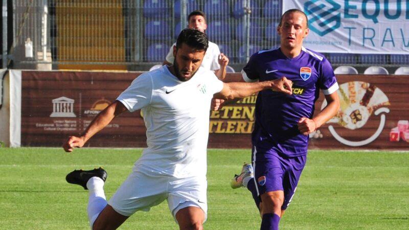 Bursaspor ilk maçta ne yaptı?