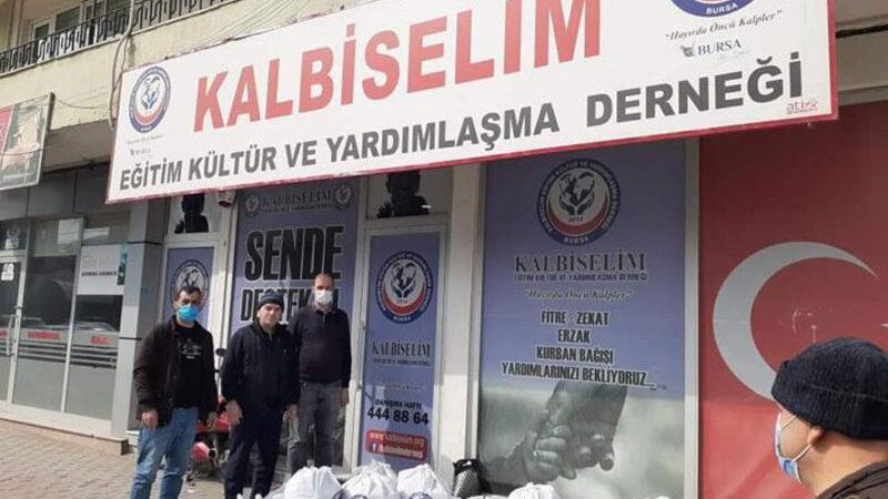 Bursa'da yardım holdingi!