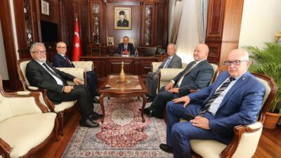 Bursaspor Divan Kurulu'ndan önemli ziyaret