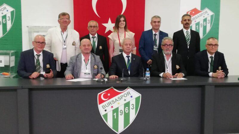 Bursaspor seçimini yaptı! İşte yeni başkan…