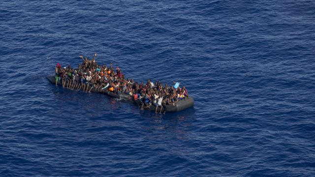 Akdeniz'de 2021'de 970 düzensiz göçmen öldü