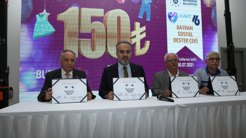 Bursa'da dev protokol! Bayramda yüzler gülecek…