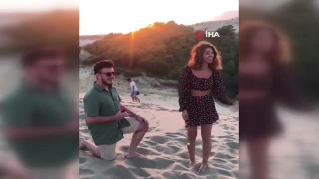 Evlilik teklifi edecekti! Tüm planlar böyle bozuldu