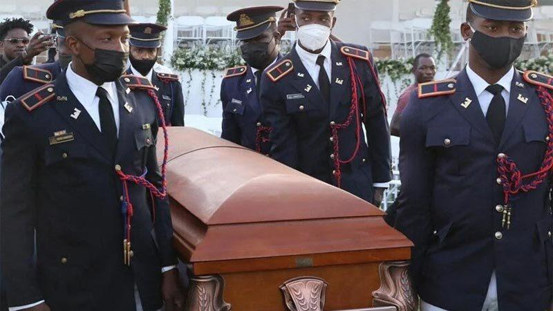 Suikasta uğrayan Haiti Devlet Başkanı'na cenaze töreni düzenlendi
