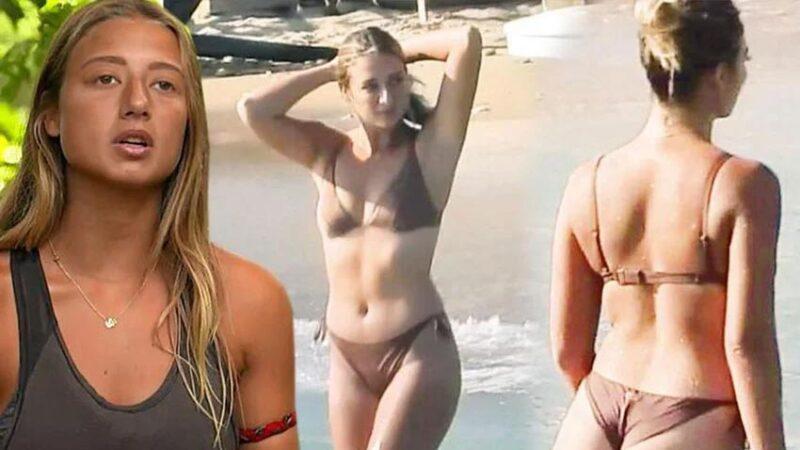 Survivor 2021 yarışmacısı cesur bikinisiyle sosyal medyayı salladı