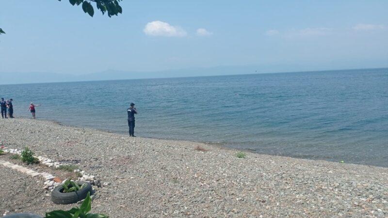 İznik Gölü'nde kahreden olay