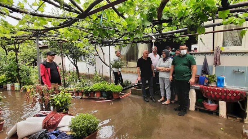 Bursa'da sel vurdu geçti! Yetkililer bölgede…