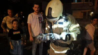 Bursa'da kurtarma operasyonu