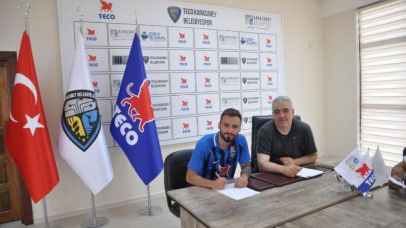 2.Lig'deki Bursa takımında bir transfer daha!
