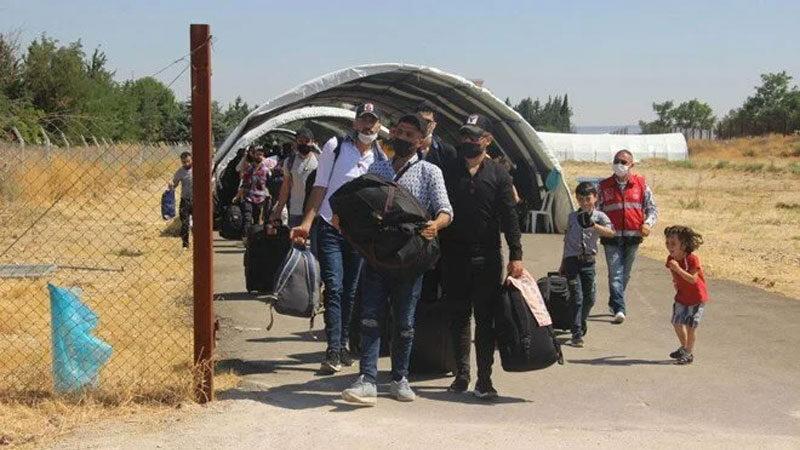 Bayram için kaç Suriyeli ülkesine döndü?