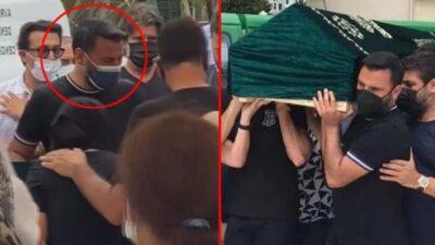 Alişan, kardeşinin cenazesinde gözyaşlarına boğuldu