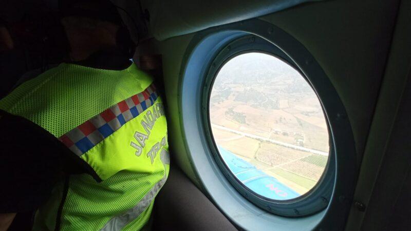 Bursa trafiğine helikopter destekli denetim