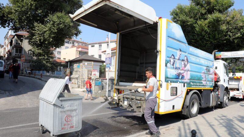 Mudanya'da temizlik çalışmaları yoğunlaştırıldı