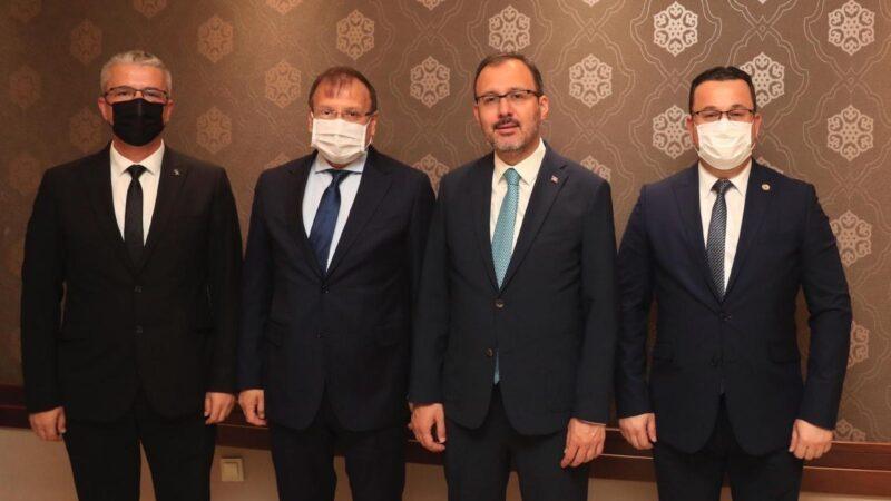 Mustafakemalpaşa'ya yeni spor yatırımları müjdesi