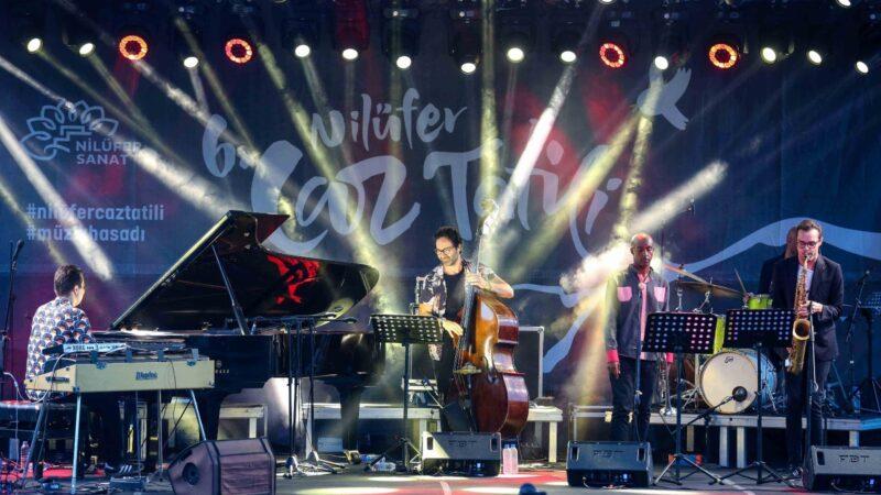 Nilüfer'de müzik dolu gece