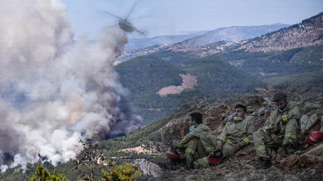 Mersin ve Hatay'daki yangınlar kontrol altında: 4 kişi gözaltına alındı