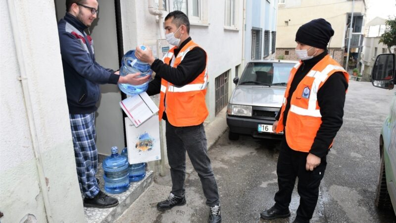 Bursa'da 1 litre atık yağ getirene 5 litre memba suyu hediye