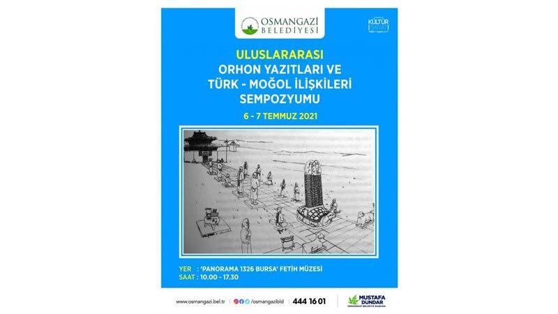 Osmangazi'de 'Orhon Yazıtları' zirvesi