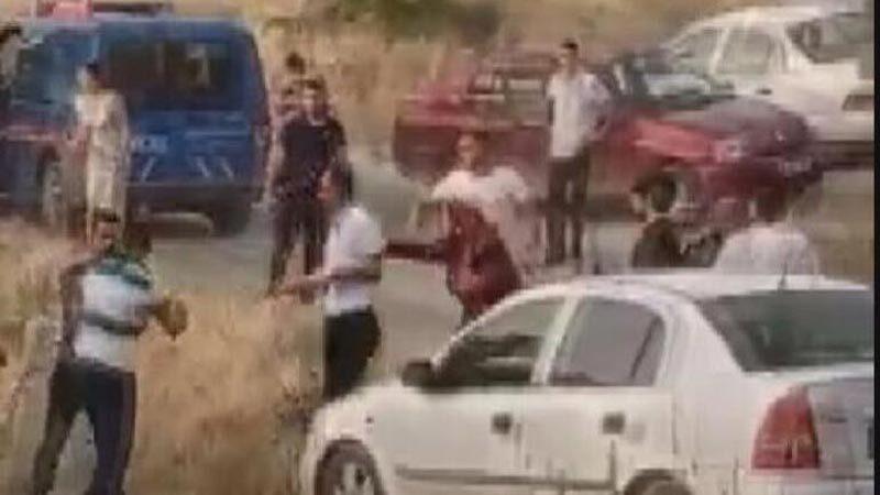 Mahalle düğünü karıştı! Silahlar ateşlendi
