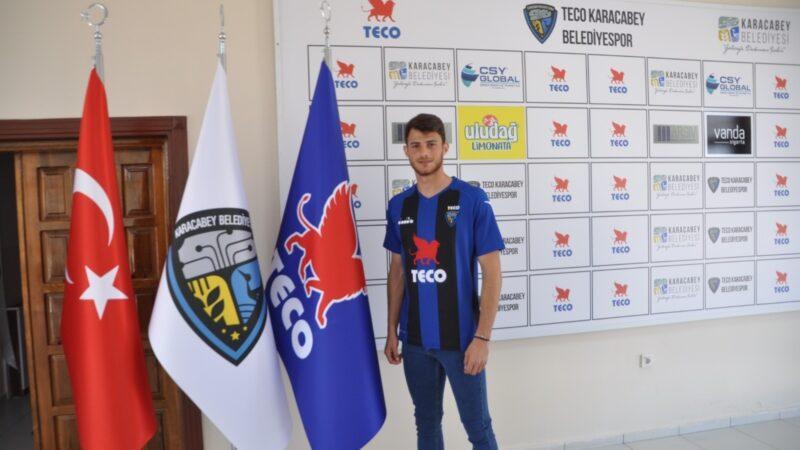 Bursa ekibinde bir transfer daha