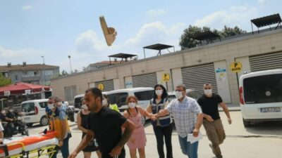 Bursa'da suç makinesi aile yakalandı! Terlikler havada uçuştu…