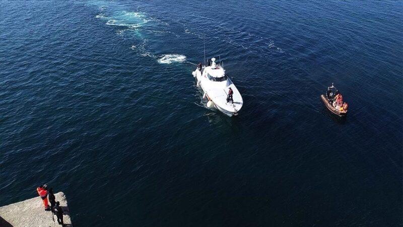 MSB açıkladı! 45 kişinin bulunduğu tekne battı: 37 kişi kurtarıldı