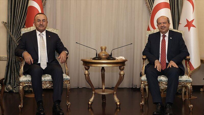 Çavuşoğlu'ndan KKTC'de açıklamalar