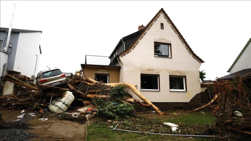 Almanya'daki sel felaketinde ölenlerin sayısı 95'e yükseldi