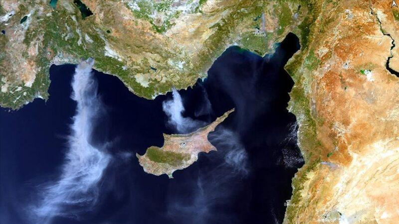 AB uydusu Türkiye'deki yangınları görüntüledi