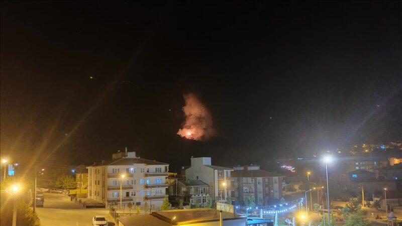 Bir yangın da Manisa'da çıktı