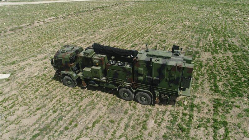 Yeni elektronik harp gücü… Türk Silahlı Kuvvetleri'ne teslim edildi