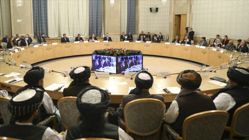 Moskova'daki Taliban heyeti: Kabil'deki hükümet ile ateşkesi görüşüyoruz